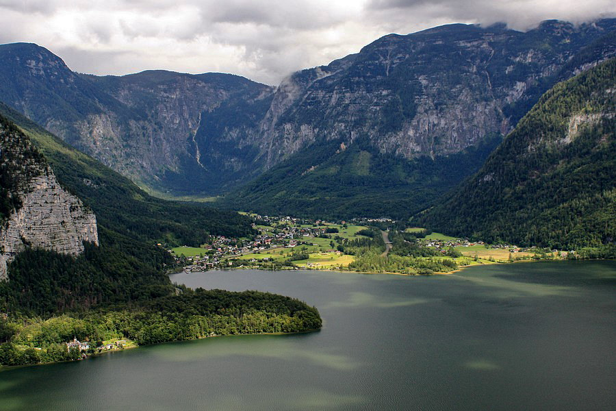 Zákutia Hallstattského jazera
